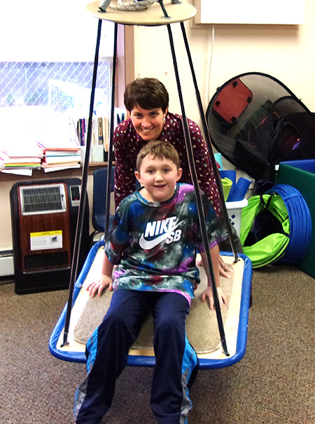 Occupational Therapy at New Road School Ocean - private special education school